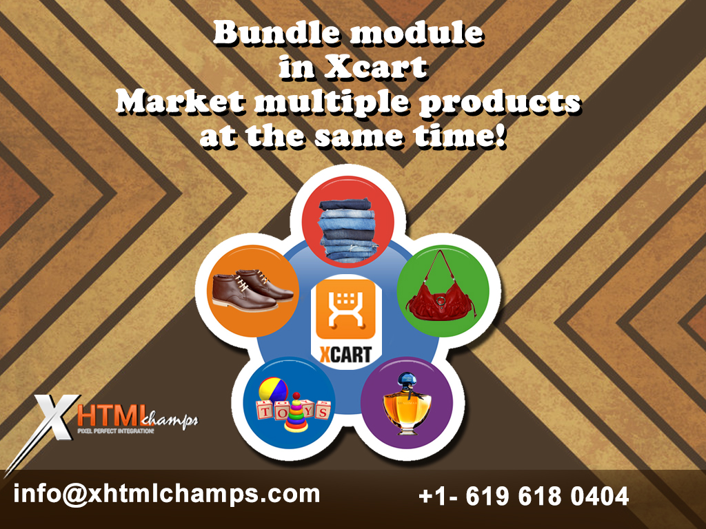 Bundle module in Xcart- Market multiple products