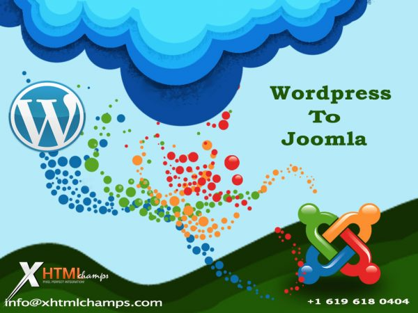 PSD to Joomla, PSD to Wordpress