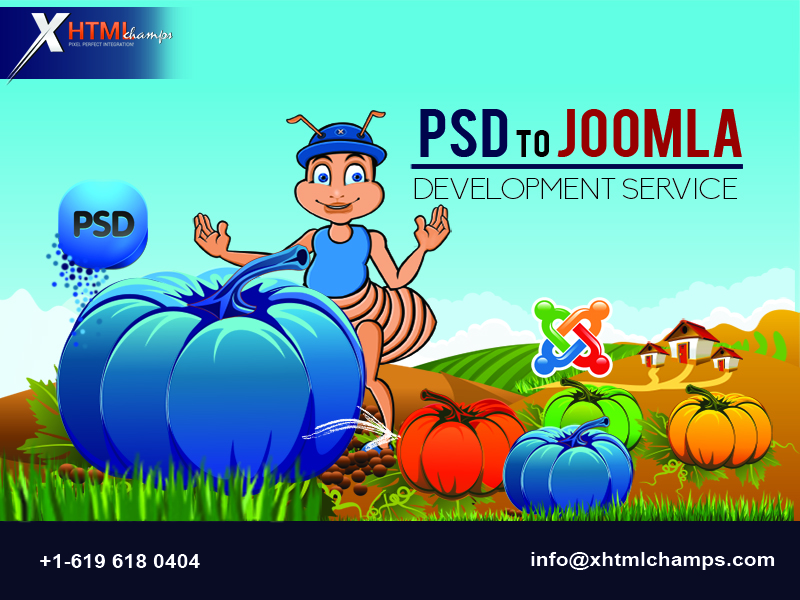 PSD to Joomla Development