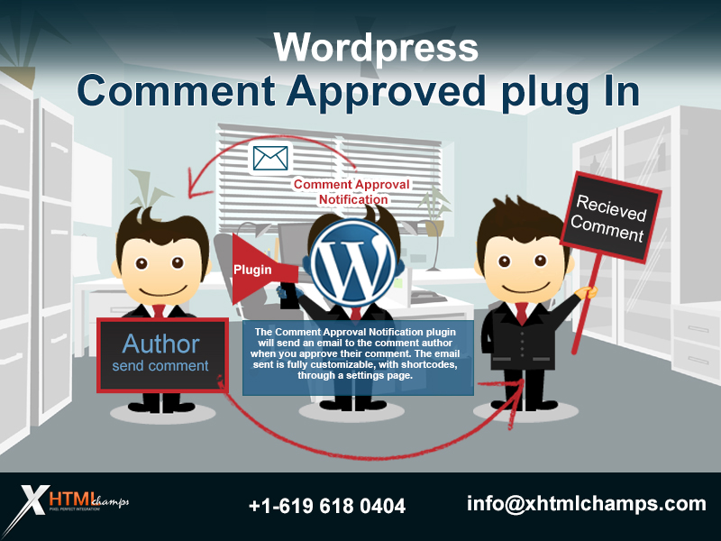 wordpress comment approved plugin
