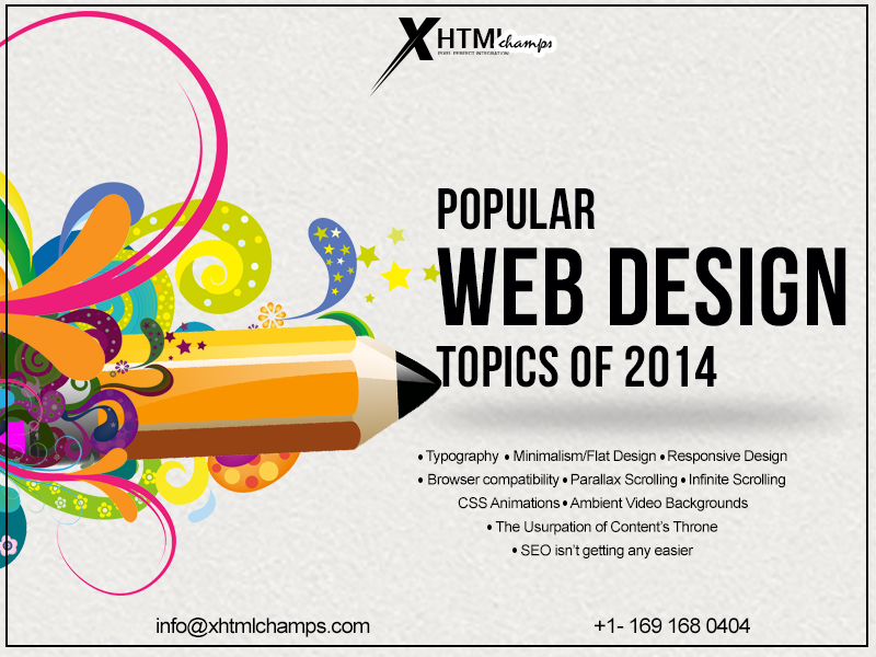 Popular Web Design Topics 2014