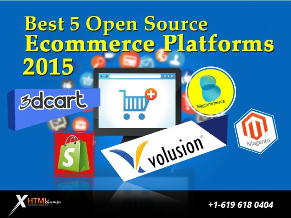 top5 ecommerce platforms