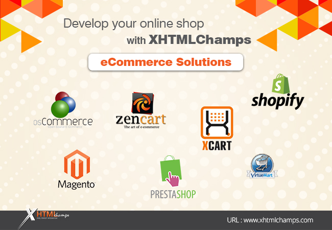 Develop your online shop with xhtmlchamps