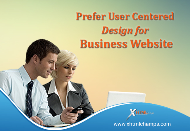 user centric webdesign