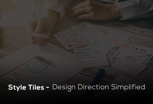 Style Tiles—Design Direction Simplified